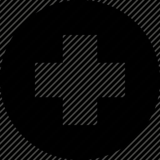 add, circle, create, cross, make, new, plus icon