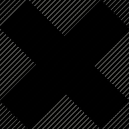 close, delete, exit, kill, remove, trash icon