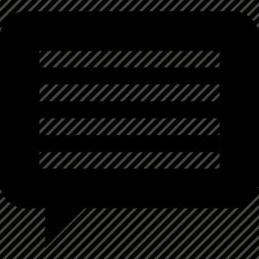 bubble, chat, comment, comments, message, speech, talk, voice icon