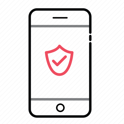 mobile, mobile protection, phone, protection, secure, secure mobile icon