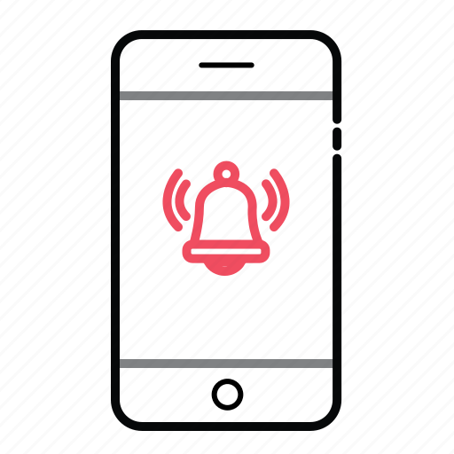 alert, mobile, mobile alert, phone, phone alert icon