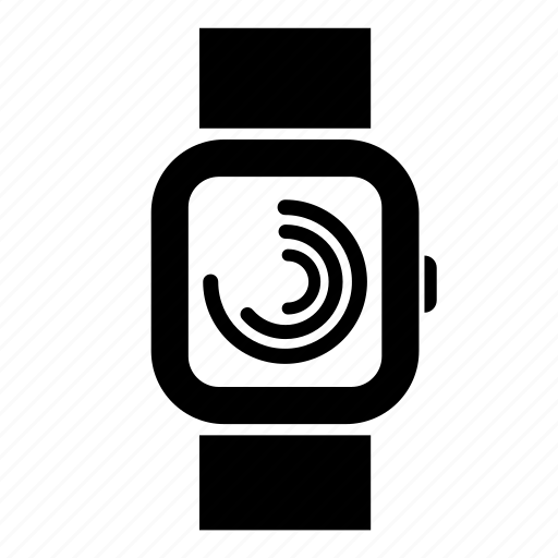 apple watch, health, healthcare, smart, track, watch icon