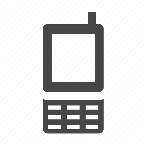 mobile phone, phone, phone front icon