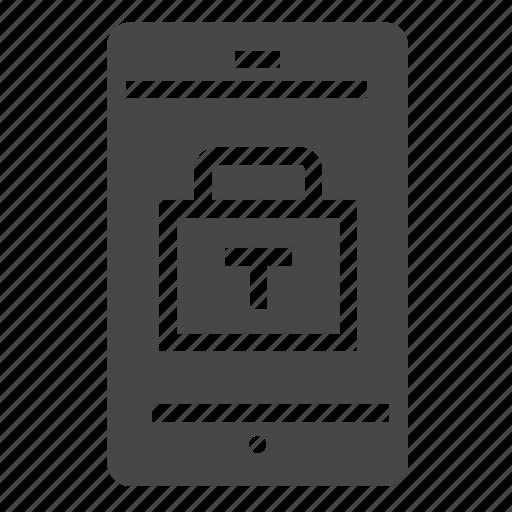 lock, mobile icon