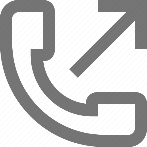 call, communication, contact, made, material, outgoing, phone icon