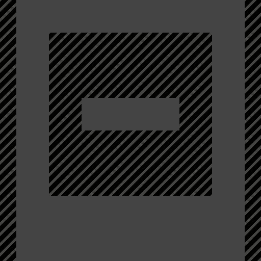 mobile, phone, remove icon