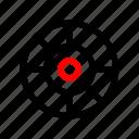 aim, goal, seo, target icon