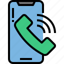 calling, call, mobile, smartphone, phone, device, software