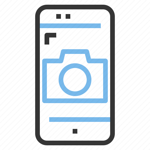 app, camera, contact, mobile, photography, smartphone icon