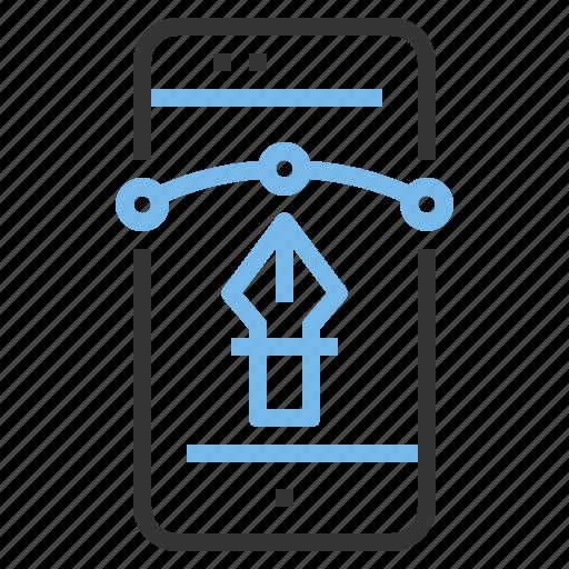 app, contact, creative, design, mobile, smartphone icon