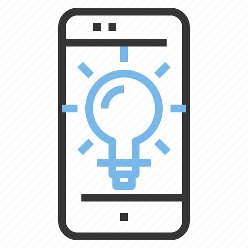 app, contact, creative, idea, mobile, smartphone icon