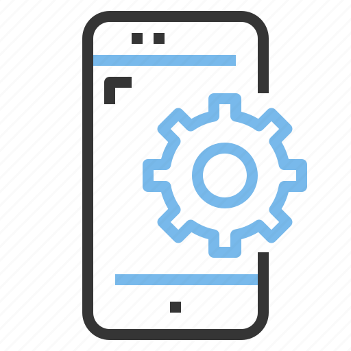 app, contact, mobile, process, smartphone icon