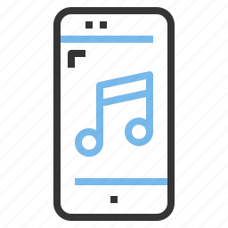 app, contact, mobile, music, smartphone icon