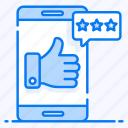 mobile feedback, social assessment, social feedback, social like, social response