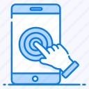 digital interaction, finger click, finger touch, interaction, pointer, touch screen, touch technology