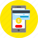 business, cart, ecommerce, electronic paymant, mobile app, payment, shopping icon