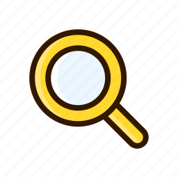 application, apps, design, mobile, search, zoom icon