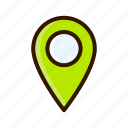 application, apps, design, map, mobile, pin icon