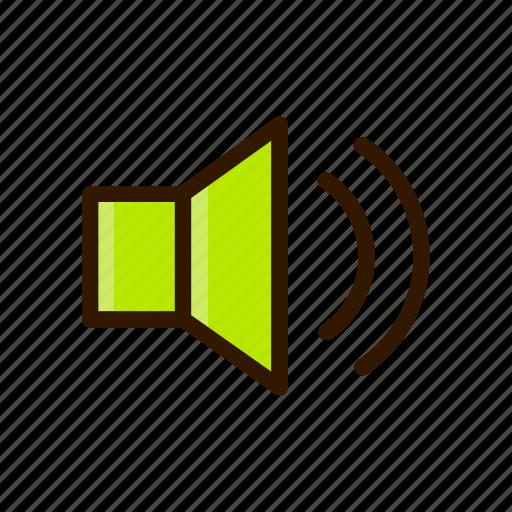 application, apps, design, mobile, sound, volume icon