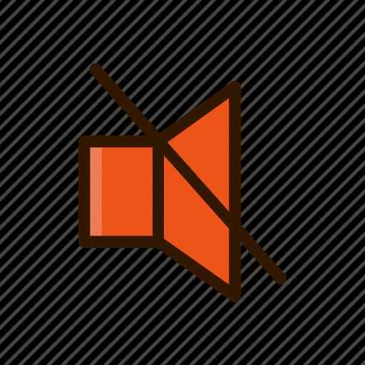 application, apps, design, mobile, mute, sound, volume icon