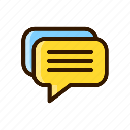 application, apps, chat, design, message, mobile icon