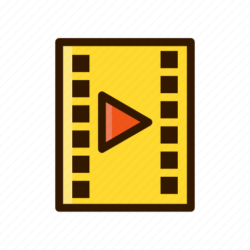 application, apps, design, mobile, movie, video icon
