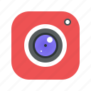 camera, capture, mobile, picture, video icon
