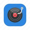 application, media, mp3, music, player icon