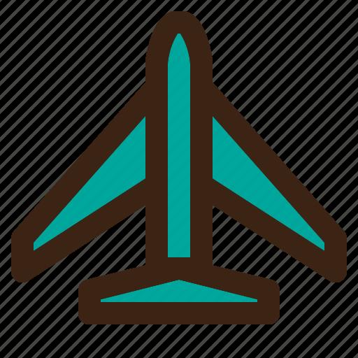 airplane, airport, flight icon