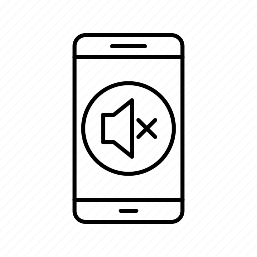 app, application, mobile, phone, silent icon
