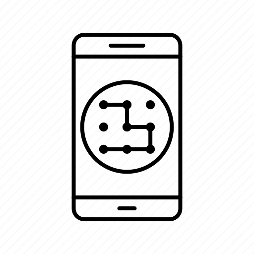 app, application, mobile, pattern, phone icon