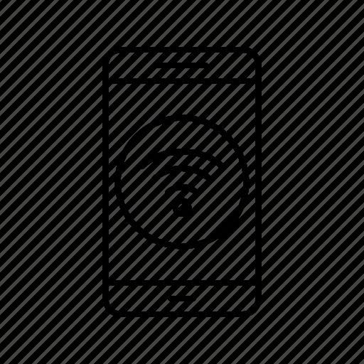 app, application, mobile, phone, wifi icon