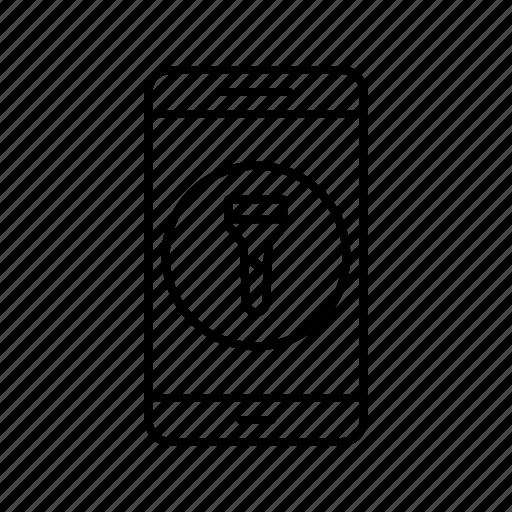 app, application, flash, light, mobile, phone icon
