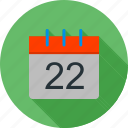 calendar, day, event, note, organizer, plan, planner icon