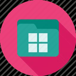 arrange, data, documents, file, folder, information, management icon