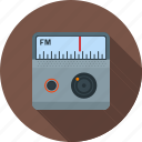 entertainment, fm, media, music, radio, station, tuner icon