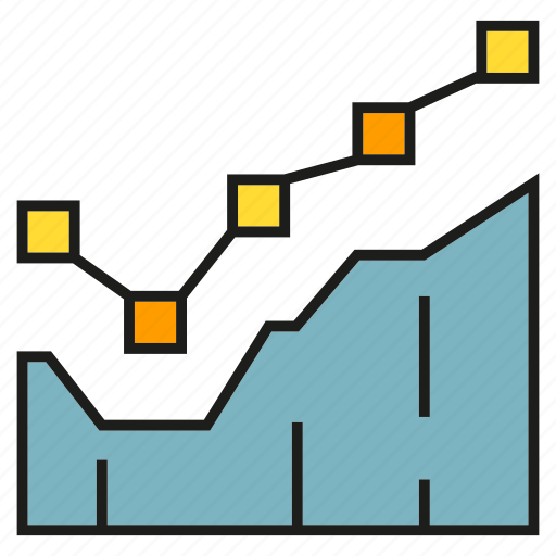 Chart, graph, plot, stock market, trend icon - Download on Iconfinder
