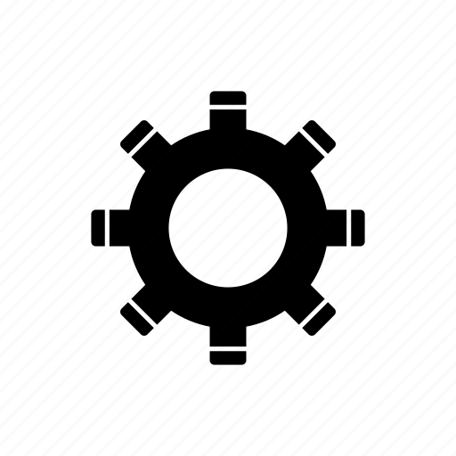 config, gear, settings icon