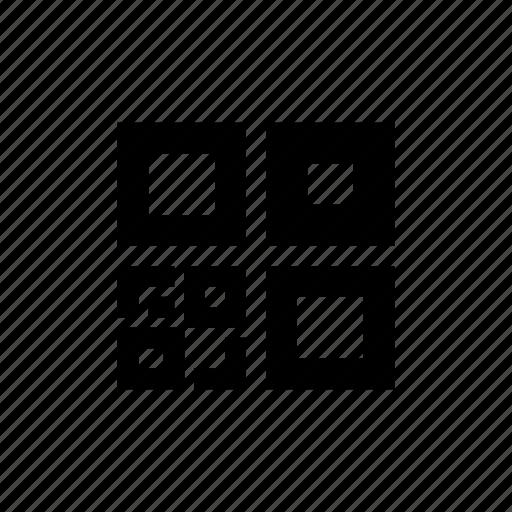 bar code, qr code, scan icon