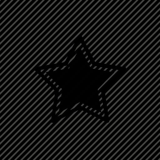 bookmark, important, star icon
