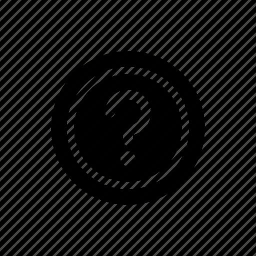 faq, help, tutorial icon