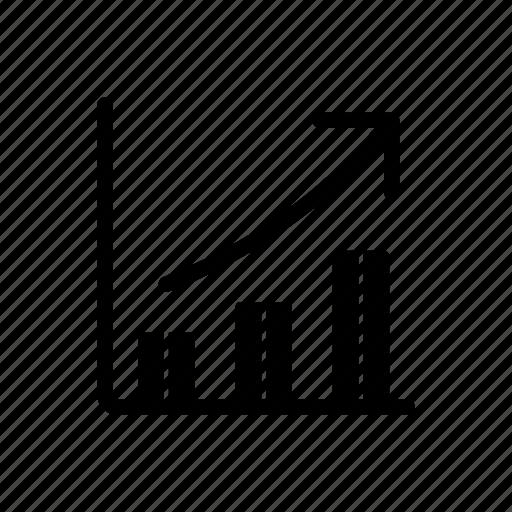bar, chart, graph, growth, increase icon