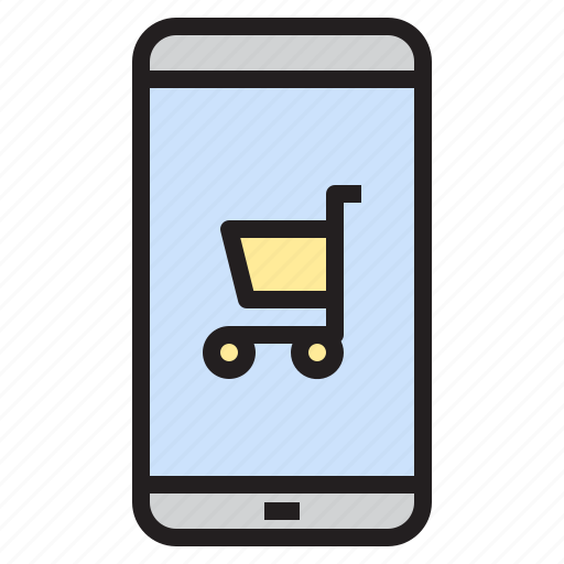 calculator, camera, gallery, mobile, phone, shopping, smartphone icon