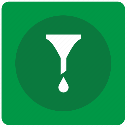drop, filter, funnel, sort, water icon