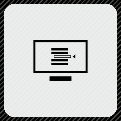 code, compile, program, screen, script icon