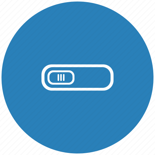 off, over, power, round, switcher icon