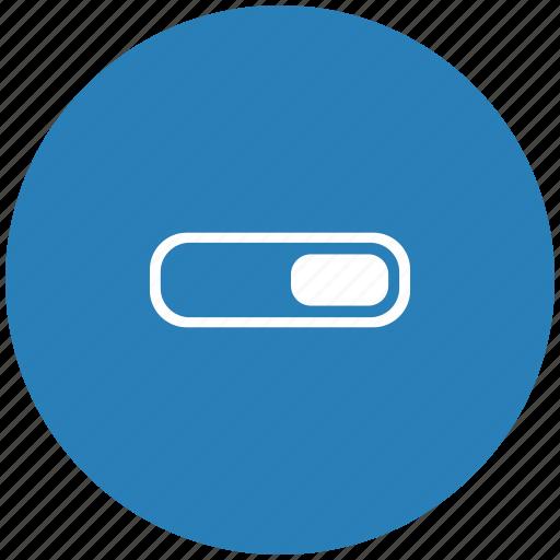 accept, light, on, power, round, switcher icon