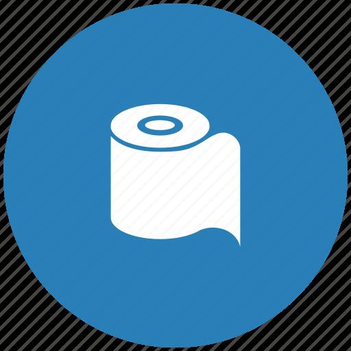 paper, round, toilet icon