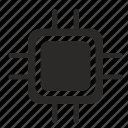 chip, chipset, core, cpu, module, processor icon