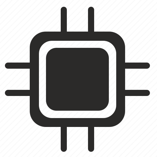 component, core, cpu, detail, device, electronics, processor icon